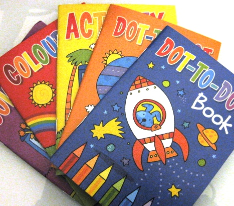 Poundland Kids Activity Books