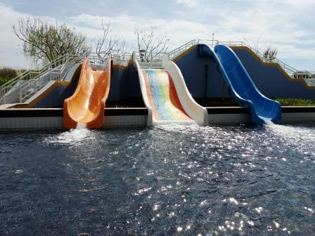 Hilton Dalaman Kids Water Slides