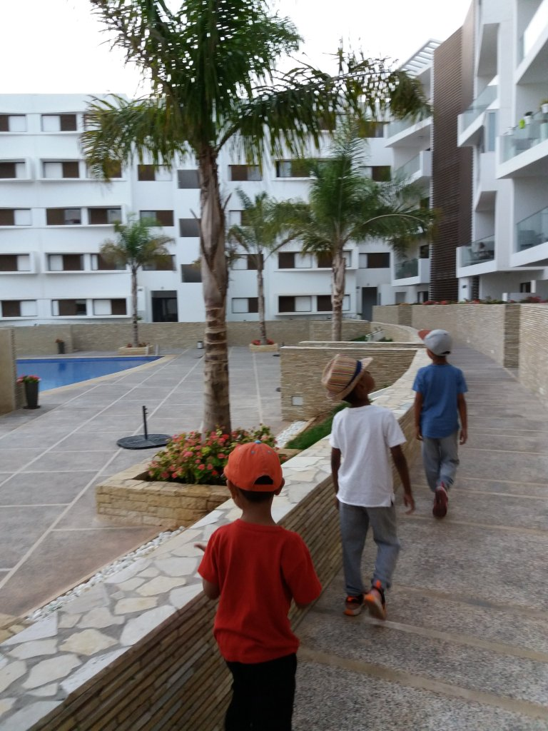 Agadir AirBnB family friendly apartment stay