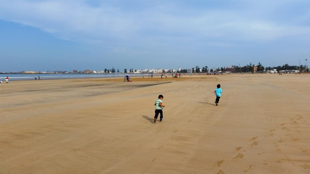 essaouira family friendly beach